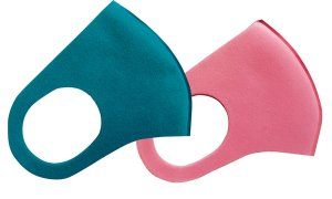 画像2: ≪洗えるマスク≫ウレタンマスク(立体型)フリーサイズ 1枚当り70円【50枚入り】 洗って繰り返し使える!